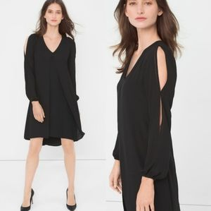 White House Black Market Cold Shoulder Dress
